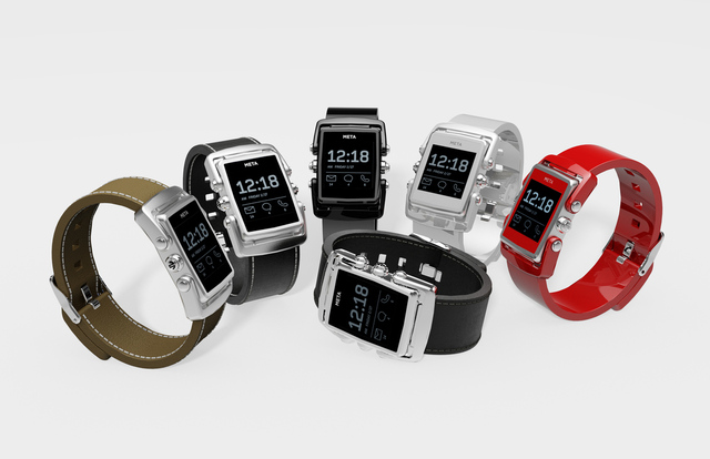 MetaWatch launch new range of smartwatches.