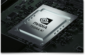Nvidia's latest Tegra K1 with 192 Cuda cores
