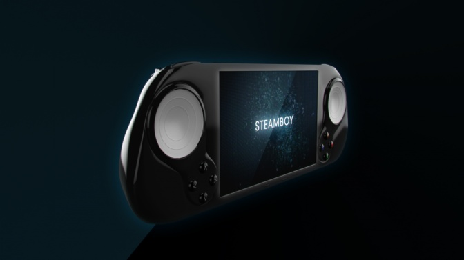 Meet the first mobile Steam Machine.