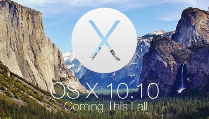 Mac OS X 10.10 Yosemite preview