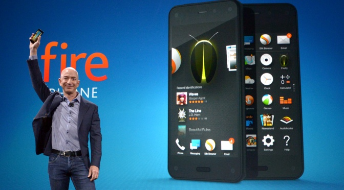 The Amazon Fire Phone has landed